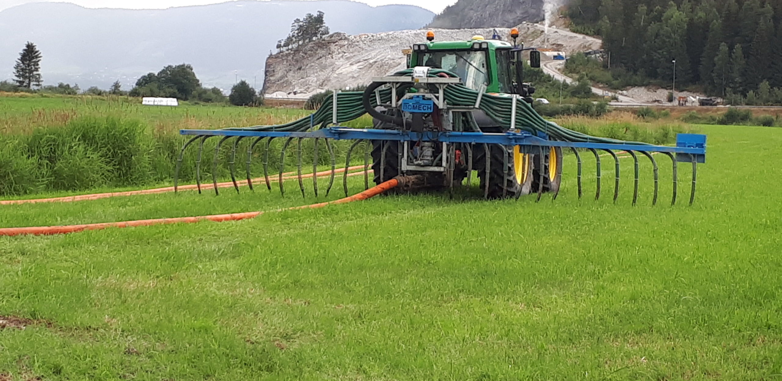 Produksjonstilskudd og Regionale miljøtilskudd for jordbruket (RMP)