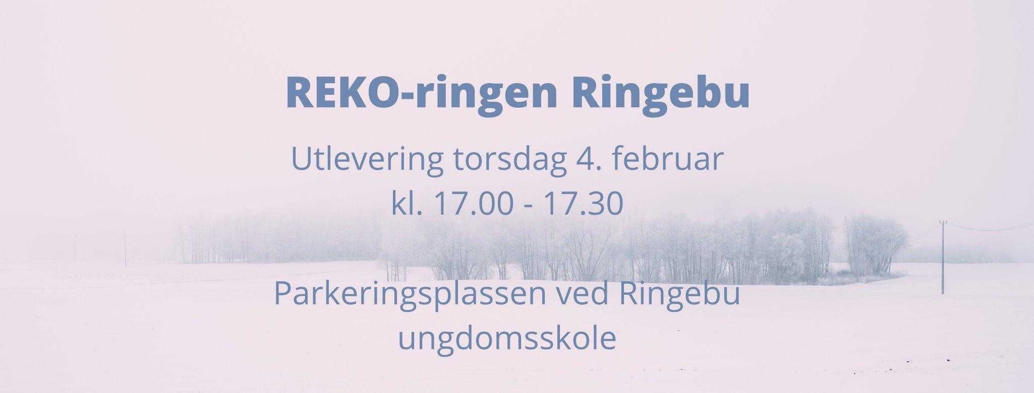 Nytt tidspunkt for utlevering i REKO-ringen Ringebu